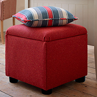DIY divas make a storage ottoman