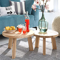 DIY divas make a side table