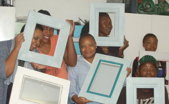 DIY Divas picture frames workshops in Cape Town, Durban, Joburg and Pretoria