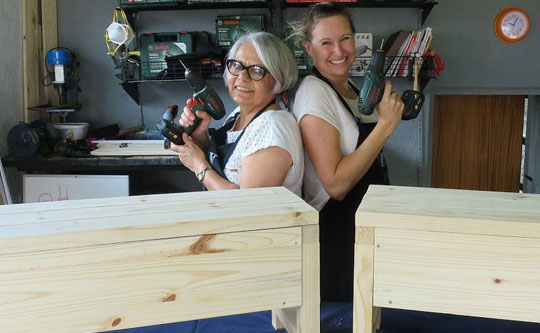 DIY Divas make furniture workshops in Cape Town, Durban, Joburg and Pretoria